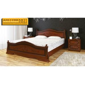 """Кровать из массива """"Карина 1"""" орех"""