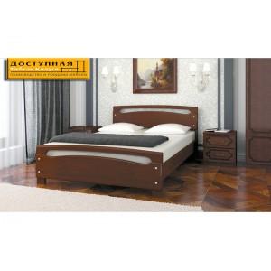 """Кровать из массива """"Камелия 2"""" орех"""