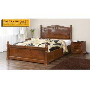 """Кровать из массива """"Карина 14"""" орех"""