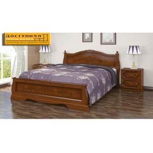 """Кровать из массива """"Карина 2"""" орех"""