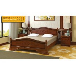 """Кровать из массива """"Карина 3"""" орех"""